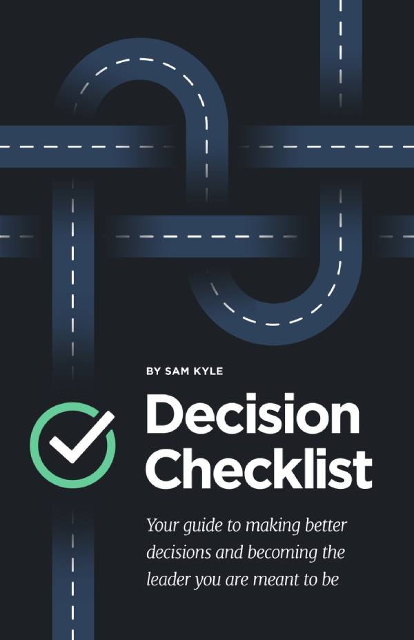 decision checklist book
