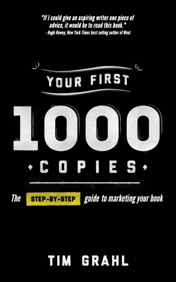 your first 1000 copies book